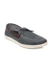 Numero Uno Men Grey Boat Shoes