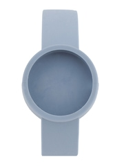 O Clock Unisex Blue Watch Strap