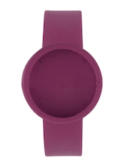 O Clock Unisex Purple Watch Strap
