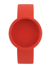 O Clock Unisex Red Watch Strap