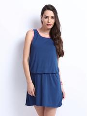ONLY Blue Blouson Dress