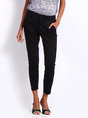 ONLY Women Black Cigarette Trousers
