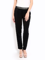 ONLY Women Black Trousers