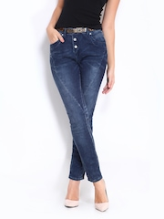 ONLY Women Blue Lizzy Antifit Jeggings