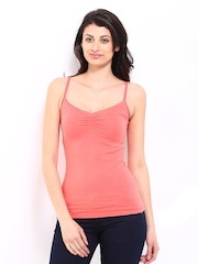 ONLY Women Coral Red Spaghetti Top