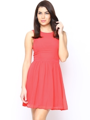 ONLY Pink Fit & Flare Dress