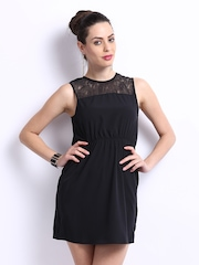 ONLY Black Ashley Fit & Flare Dress