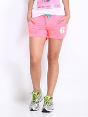 ONLY Women Neon Pink Shorts