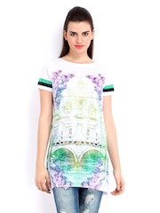 ONLY Women White Printed Tunic