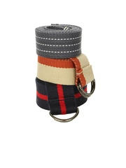 OTLS Men Pack of 3 Canvas Belts