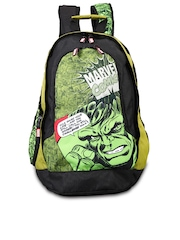 OTLS Unisex Green and Black Bravo Hulk Laptop Bag