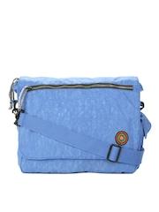OTLS Unisex Blue Sway Messenger Bag