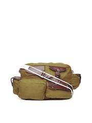 OTLS Unisex Khaki Messenger Bag
