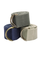 OTLS Unisex Set of 3 Belts