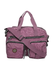 OTLS Women Purple Notebook Bag