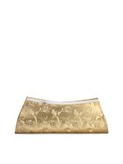 Oleva Gold-Toned Clutch