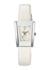 Oleva Women Cream-Coloured Dial Watch OLW 14 W