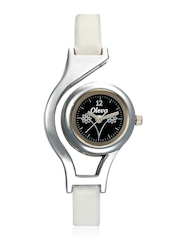 Oleva Women Black Dial Watch OLW 10 B