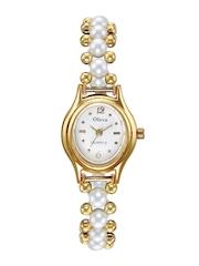 Oleva Women White Dial Watch OPW 1G