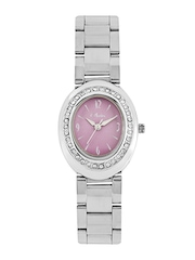 Olvin Women Purple Dial Watch 1653 SM04