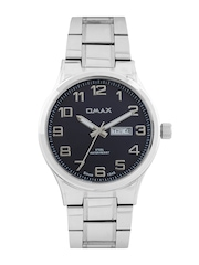 Omax Men Navy Dial Watch