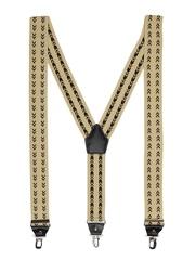Orosilber Men Beige Dhoom 3 Suspenders