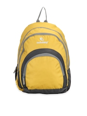 Outshiny Unisex Yellow Flora Backpack