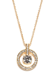 SWAN By 18-carat Gold-Plated London Eye Necklace With Swarovski Elements Ouxi