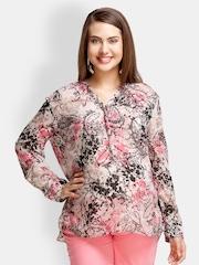 Oxolloxo Pink & Black Maternity Sleepwear