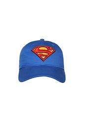 PUMA Kids Unisex Blue Superman Cap
