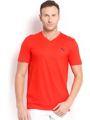 PUMA Men Red T-shirt