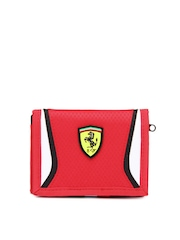 PUMA Unisex Red Ferrari Replica Wallet