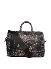 PUMA Women Black Printed Handbag