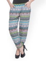 PURYS Women Multicoloured Printed Lounge Pants E-180098SP