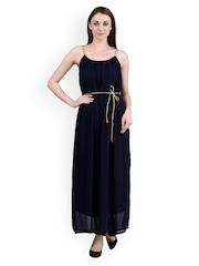 Pab Jules Navy Blue Maxi Dress