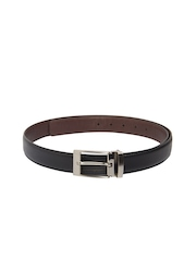 Pacific Gold Men Black & Brown Reversible Belt