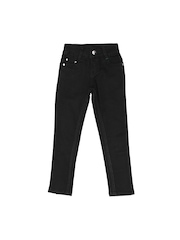 Palm Tree Girls Black Jeans