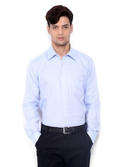 Park Avenue Men Blue Slim Fit Formal Shirt