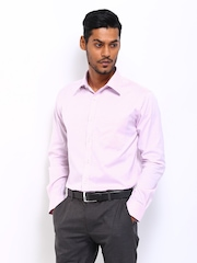 Park Avenue Men Lavender Slim Fit Formal Shirt