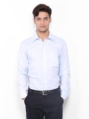 Park Avenue Men Light Blue Slim Fit Formal Shirt