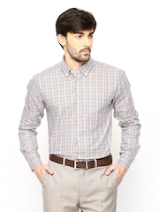 Park Avenue Men Multicoloured Slim Fit Formal Shirt