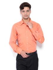 Park Avenue Men Orange Formal Shirt