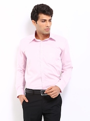 Park Avenue Men Pink Slim Fit Formal Shirt