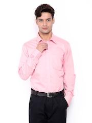 Park Avenue Men Pink Slim Fit Formal Shirt