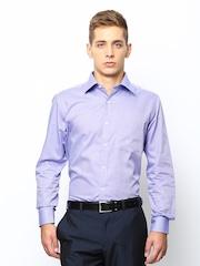 Park Avenue Men Purple Formal Shirt