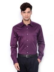 Park Avenue Men Purple Slim Fit Formal Shirt