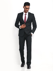 Park Avenue Navy Slim Single Breasted Suit