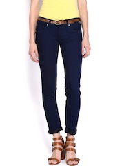 People Women Navy Skinny Fit Jeans
