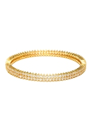 Peora Gold-Toned & Silver-Toned Bangle