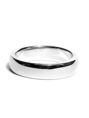 Peora Unisex Sterling Silver Ring